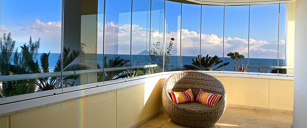 convierta su porche o terraza en un agradable espacio que puede disfrutar durante todos los das del ao protegido contra la lluvia el fro el viento - Acristalar Terraza